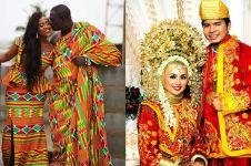 10 Baju pengantin tradisional paling unik di dunia, ada dari Indonesia