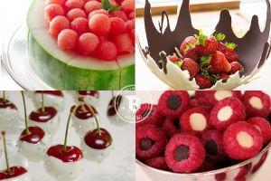 15 Cara menyajikan buah ini unik banget & bikin ngiler pengen makan