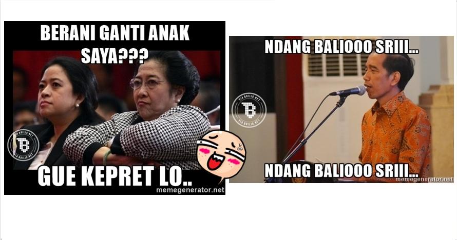 13 Meme reshuffle menteri Jokowi, nyindir abis dan bikin geli sendiri