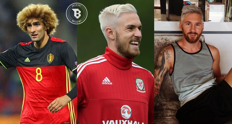 10 Pemain sepak bola yang pernah nekat ngecat rambut jadi pirang!