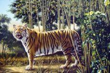Jago tebak? Coba deh ada berapa ekor harimau!