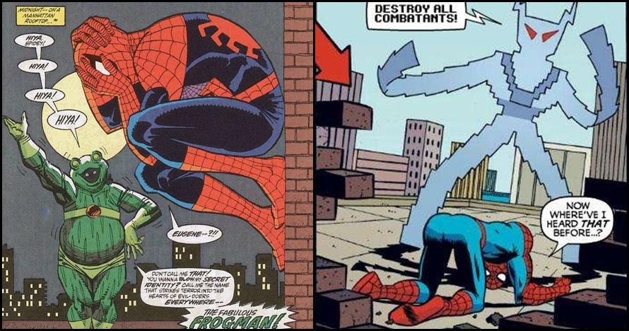 20 Karakter konyol musuh Spiderman, siapa saja ya?