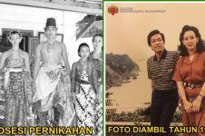 10 Foto lawas gambarkan kemesraan Sri Sultan HB X dan GKR Hemas