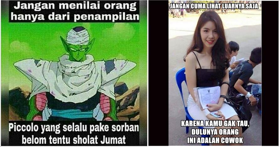 7 Meme 'jangan menilai dari penampilan' ini bikin ketawa sendiri