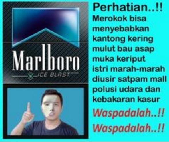 14 Meme 'larangan merokok' ini bukannya bikin waswas malah kocak