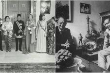 10 Foto langka Presiden Soeharto, selalu terlihat tegas dan berwibawa!