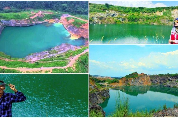 Wisata Bogor Tak Cuma Puncak Main Juga Ke Danau Quarry Yang