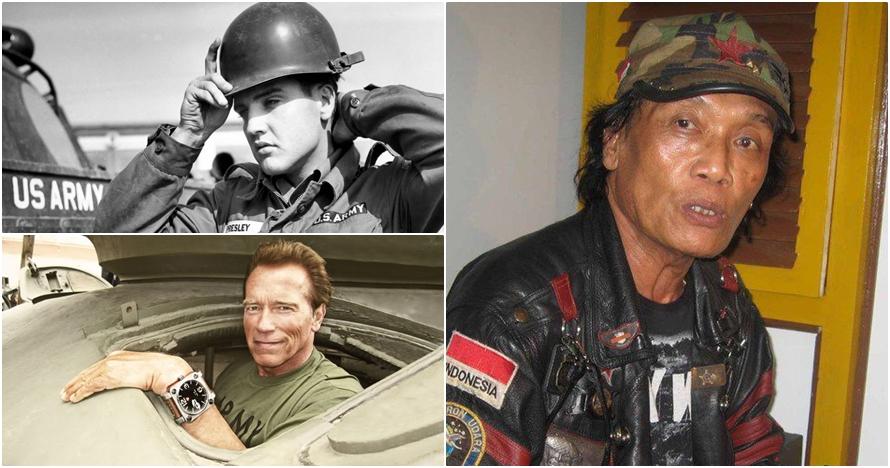 Tak disangka, 10 artis ini ternyata pernah menjadi serdadu militer