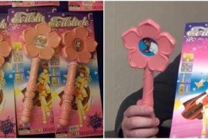 Gambar tak layak ini ditemukan pada mainan anak, duh!