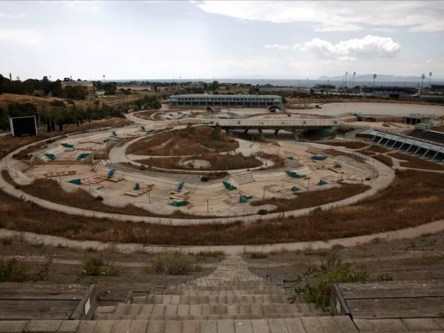 16 Foto kondisi stadion Olimpiade Athena 2004 ini bikin miris!