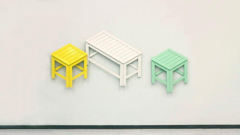 kursi 2D jadi 3D © 2016 brilio.net
