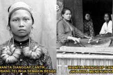10 Standar kecantikan wanita Indonesia zaman dulu, tanpa sulam alis!