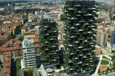 Apartemen ini tak cuma jadi hunian, tapi juga jadi hutan vertikal