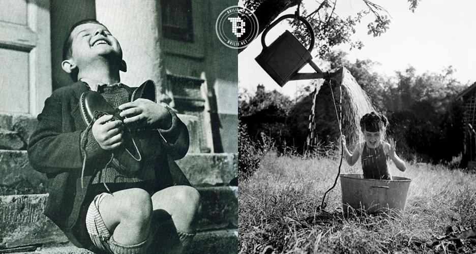 12 Foto langka tawa anak-anak di tengah Perang Dunia II, mengharukan!