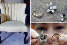 Beli sofa bekas malah dapat berlian mahal, beruntung banget!