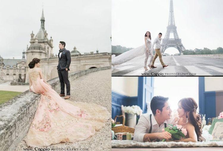 10 Foto prewedding romantis Samuel dan Franda, bak di negeri dongeng!