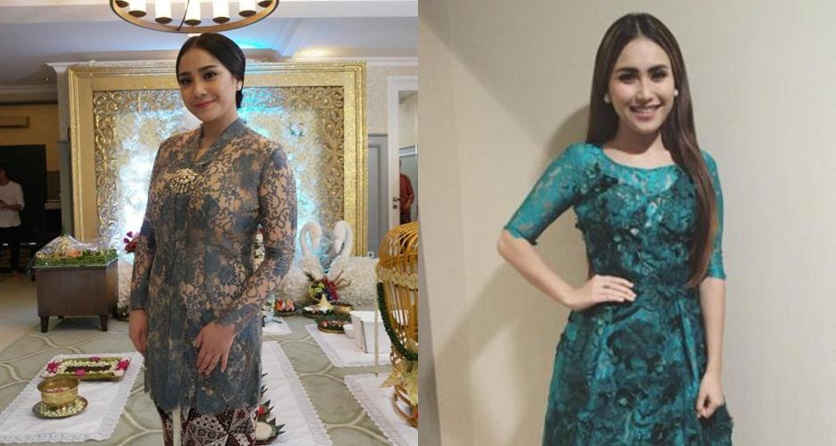 6 Foto ini bukti Ayu Ting Ting cuma meniru gaya fashion Nagita Slavina