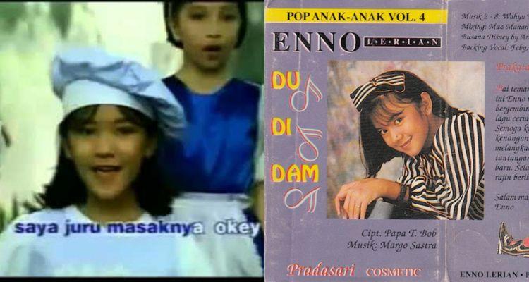 Apa kabar Enno Lerian pelantun lagu 'Du Di Dam'? Anak 90an wajib tahu!