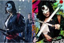 10 Foto cantiknya Karen Fukuhara, pemeran Katana di Suicide Squad