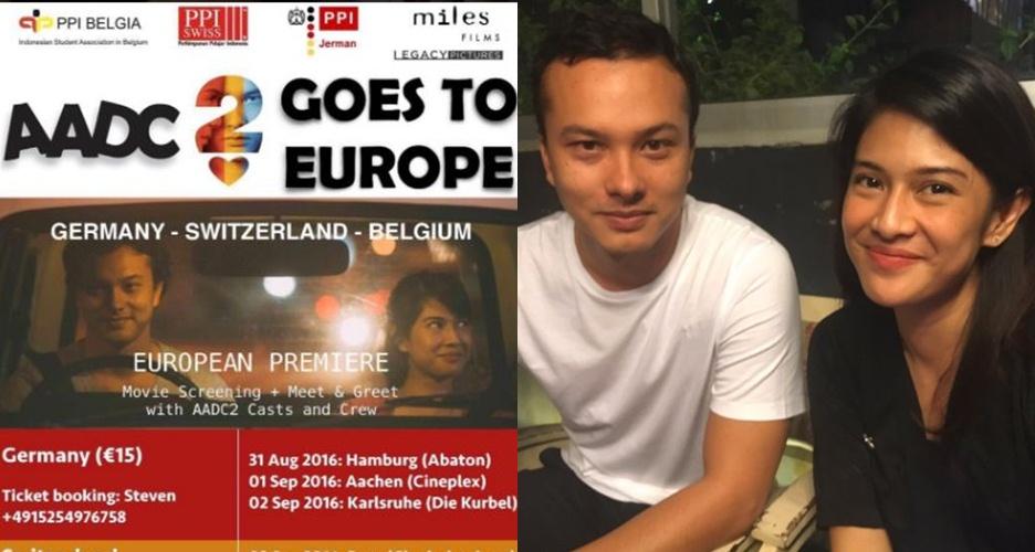 Sukses di Indonesia, film AADC 2 bakal diputar di 5 kota di Eropa