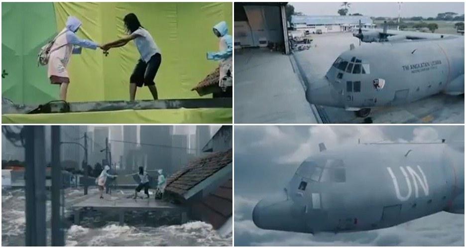 14 Foto behind the scene film 'Bangkit' yang bikin kamu melongo