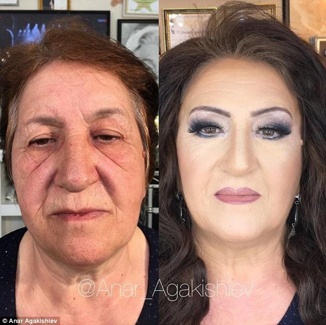 makeup wanita tua © 2016 brilio.net