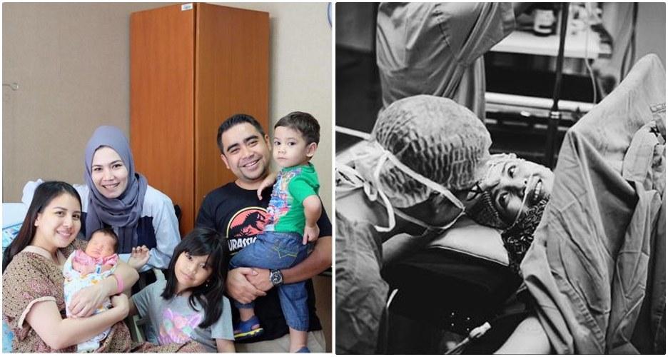 10 Foto perjuangan Tya Ariestya saat melahirkan, mengharukan banget!