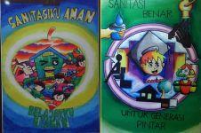 8 Lukisan ini mengajakmu peduli sanitasi lingkungan, yuk hidup sehat!