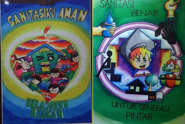 8 Lukisan Ini Mengajakmu Peduli Sanitasi Lingkungan Yuk Hidup Se
