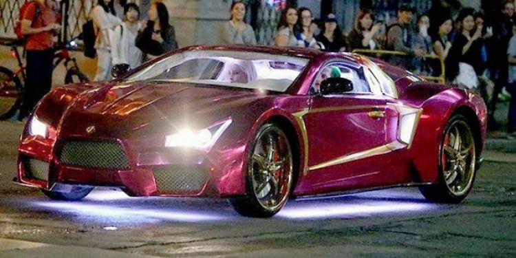 Mobil Joker di film Suicide Squad ternyata supercar 'ab