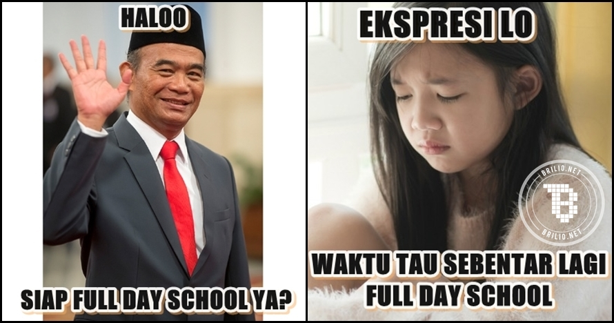 10 Meme 'full day school' ini kocak abis, duh anak-anak kapan mainnya?