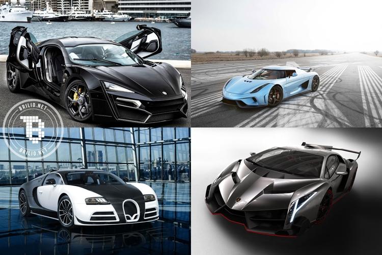 10 Mobil ini paling mahal di dunia tahun 2016, harganya bikin semaput