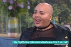 Pria ini lakukan berbagai operasi demi mirip Kim Kardashian