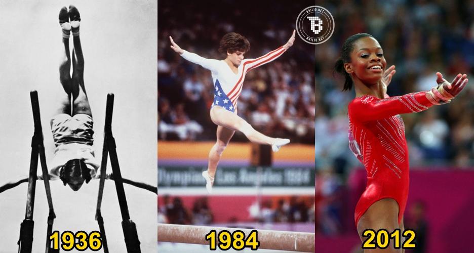 10 Evolusi kostum atlet senam Olimpiade, dari norak sampai keren