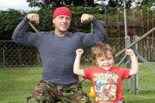 Pernah sakit tumor sebesar bayi, gaya hidup pria ini berubah drastis