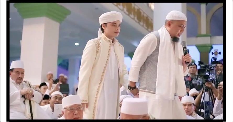 Ini alasan Arifin Ilham nikahkan anaknya usia 17 tahun dengan mualaf