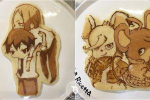 Lupakan bentuk bulat, chef ini buat pancake berbentuk aneka karakter