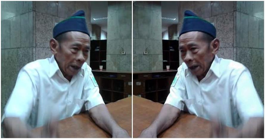Suparno, asisten arsitek Istiqlal yang masih mengabdi di usia 88 tahun