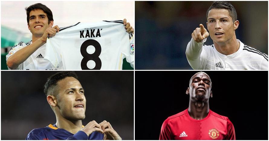 15 Nilai transfer termahal bintang sepak bola dunia, idolamu siapa?