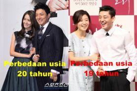 10 Drama percintaan Korea ini sukses meski usia pemerannya beda jauh