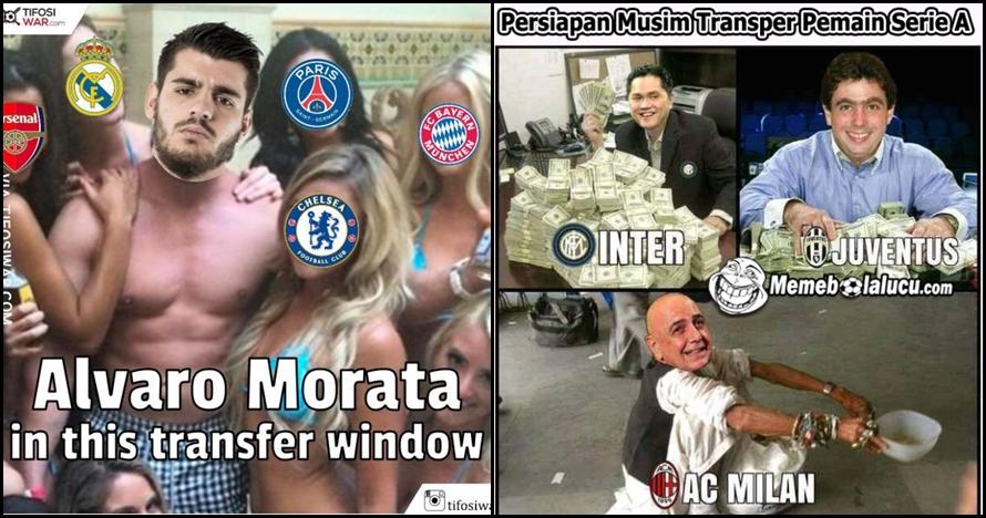 11 Meme lucu bursa transfer pesepakbola, awas klub idolamu tersindir