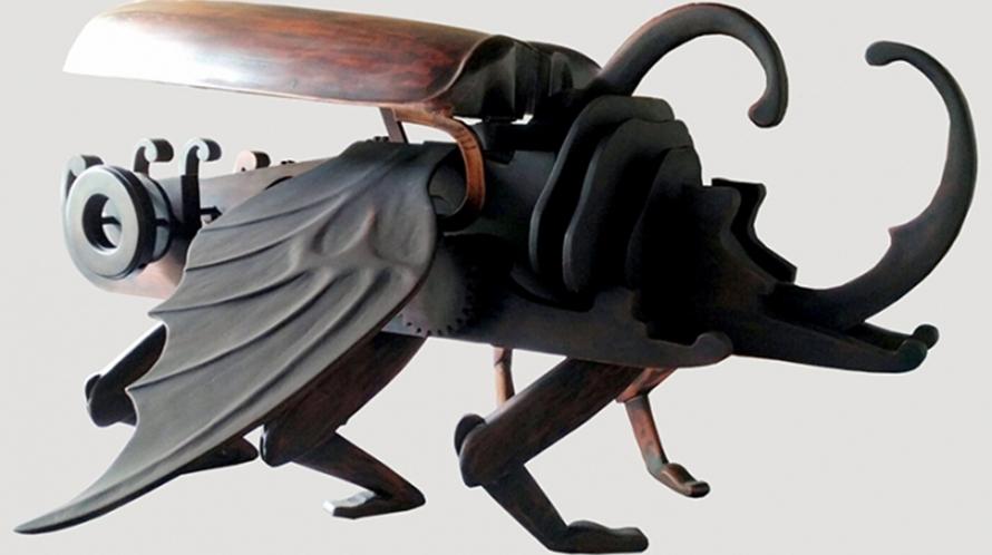 7 Robot kayu karya seniman asal Jogja ini keren abis