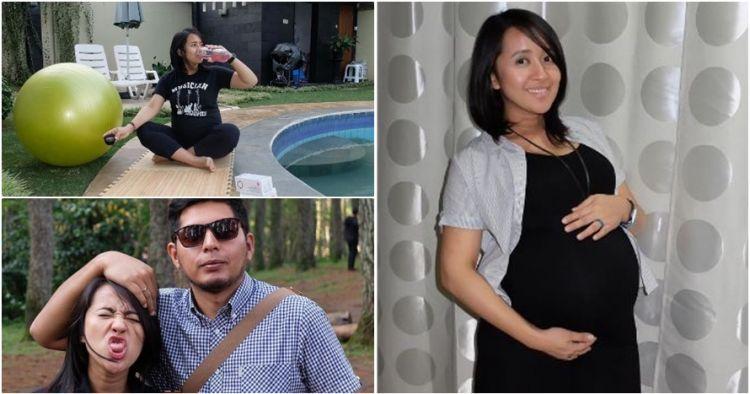 10 Potret Chua Kotak saat hamil tua, tetap imut & kece badai