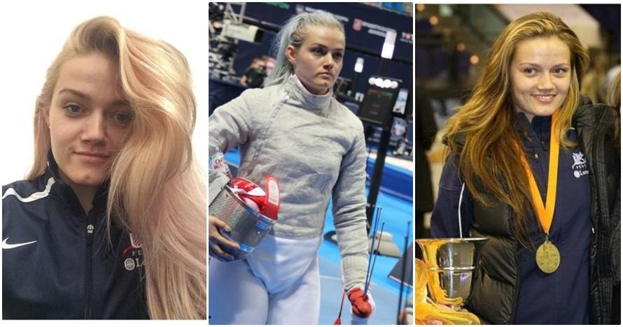 Dagmara Wozniak, atlet anggar cantik bikin kamu pengen 'ditebas' mesra