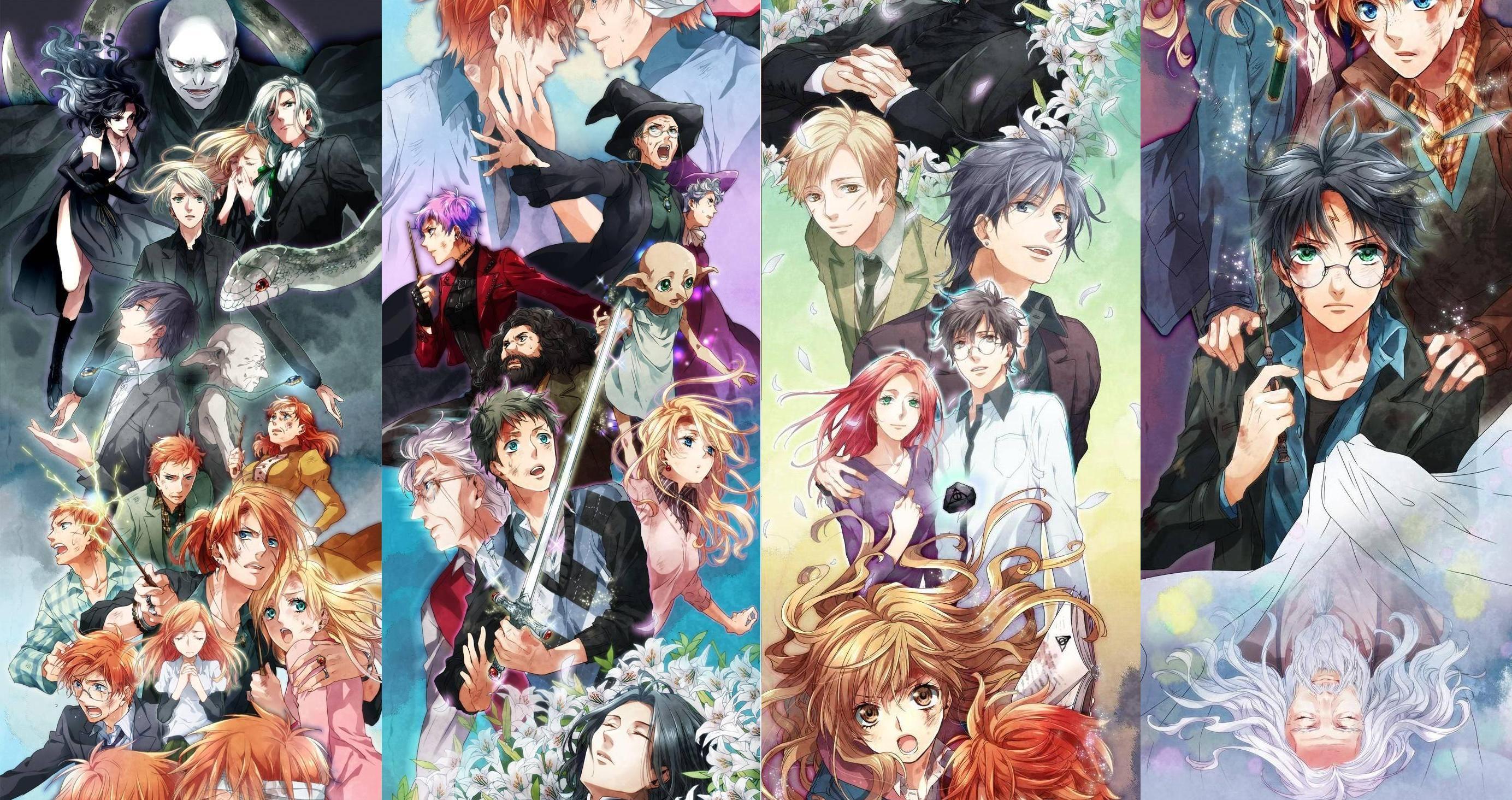 Begini Jadinya Kalau Ada Harry Potter Versi Anime Jepang Keren