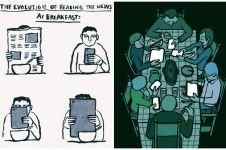 15 Ilustrasi sarkas ini gambarkan kondisi dunia saat ini, miris deh