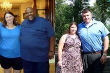 Obesitas jadi langsing, transformasi 20 pasangan ini menakjubkan!