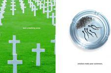 Iklan kreatif berhenti merokok ini  bikin perokok tersindir berat