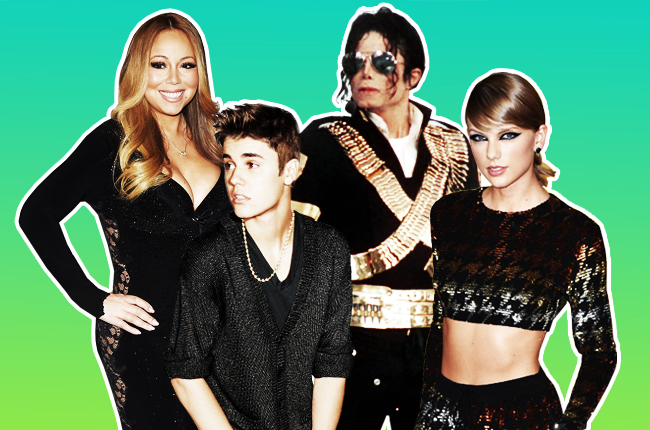 13 Lagu debut ini langsung nangkring di posisi teratas chart Billboard