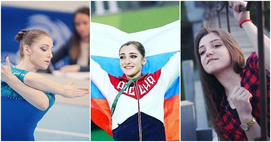 Aliya, pesenam peraih emas Olimpiade yang cantiknya bikin gagal fokus